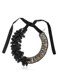 Night Market - Leaves Black Necklace - Lyst