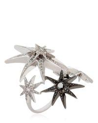 Colette - Black White Star Ring Set - Lyst
