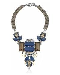 Anton Heunis - Blue Large Geometric Rebel Necklace - Lyst