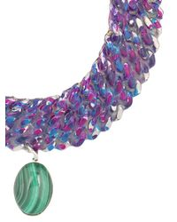 Gemma Redux - Metallic Color Bleed Necklace - Lyst