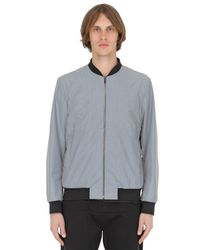 Christopher Kane | Gray Reflective Bomber Jacket for Men | Lyst