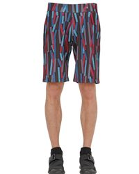 Christopher Kane | Multicolor 3d Bolster Printed Neoprene Shorts for Men | Lyst