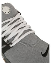 Nike - Gray Air Presto Premium Fleece Sneakers for Men - Lyst