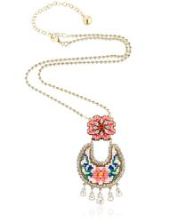 Shourouk | Multicolor Leitmotiv Necklace | Lyst