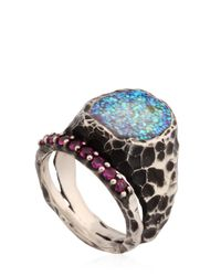 Voodoo Jewels | Multicolor Sigillum Ring With Synthetic Rubies | Lyst