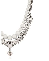 Ellen Conde | Metallic Swarovski Pendant Necklace | Lyst