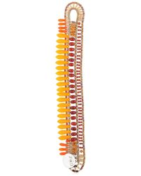Ziio | Orange Mistinguett Beaded Bracelet | Lyst