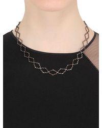 Stone Paris - Black Moon River Necklace - Lyst