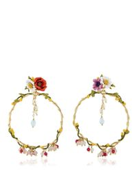 Les Nereides - Multicolor Floraisons Sauvages Earrings - Lyst