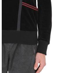 Bottega Veneta - Metallic Striped Cotton Chenille Sweatshirt for Men - Lyst