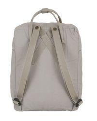 Fjallraven - Gray 16l Kanken Nylon Backpack - Lyst