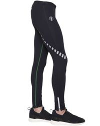 Bikkembergs | Black Quick Drying Stretch Microfiber Leggings for Men | Lyst