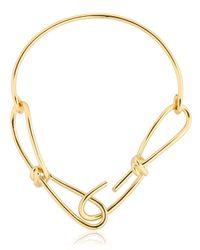 Annelise Michelson | Metallic Wire Chocker | Lyst
