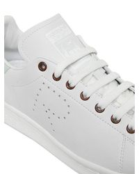Raf Simons | White Stan Smith Leather Sneakers for Men | Lyst