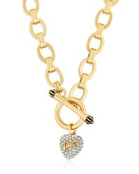 Juicy Couture - Metallic Juicy Signature Statements Necklace - Lyst