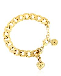 Juicy Couture | Metallic Little Luxuries Chain Bracelet | Lyst