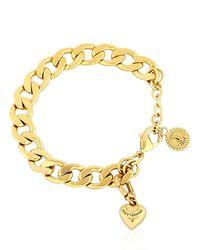 Juicy Couture | Metallic Little Luxuries Chain Bracelet | Lyst