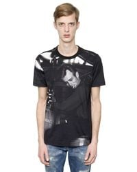 Dolce & Gabbana | Black James Dean Printed Jersey T-shirt for Men | Lyst