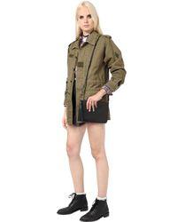 Saint Laurent - Black Teen Monogram Leather Shoulder Bag - Lyst