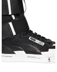 Puma Select Multicolor Ueg Court Play Mesh Sneaker Boots for men
