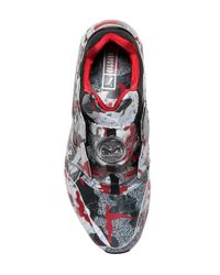 Puma Select Multicolor Trapstar Disc Blaze Leather Sneakers for men
