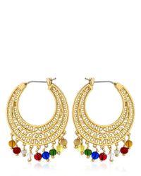 Les Nereides | Metallic Tresors De Pondichery Earrings | Lyst