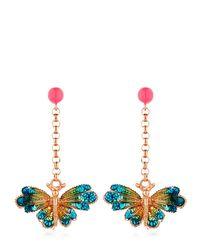 Vernissage Jewellery - Metallic Butterfly Earrings - Lyst