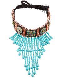 Night Market | Multicolor Choker Necklace | Lyst