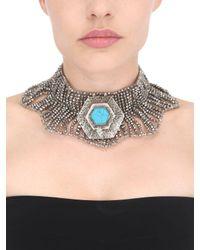 Night Market   Metallic Collar Necklace   Lyst