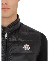 Moncler - Black Gui Quilted Nylon Down Vest for Men - Lyst