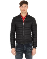 Moncler - Black Garin Lightweight Nylon Down Jacket for Men - Lyst