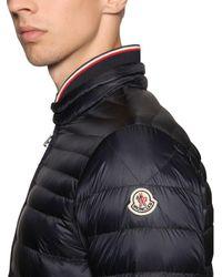 Moncler - Blue Garin Lightweight Nylon Down Jacket for Men - Lyst
