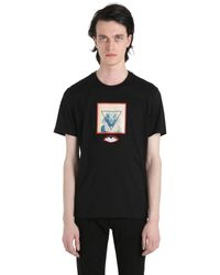 Givenchy | Black Cuban Egypt Print Cotton Jersey T-shirt for Men | Lyst