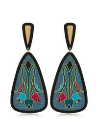 Anna E Alex | Blue Tulipano Earrings | Lyst
