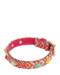 RED Valentino | Red Multicolor Stars & Beads Bracelet | Lyst