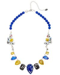Halo | Blue Picasso Pop Necklace | Lyst