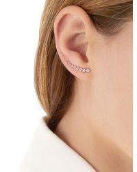 EF Collection - Metallic Mini Bezel Diamond Mono Ear Cuff - Lyst