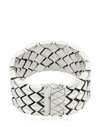 KD2024 - Metallic M3n Sterling Silver Bracelet for Men - Lyst