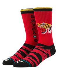 Stance - Red Chi Tour Cotton Blend Socks for Men - Lyst