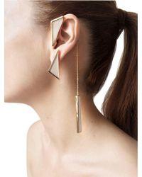 Sylvio Giardina - Multicolor Collezione Three (3) Shape Earrings - Lyst