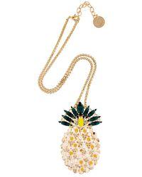 Anton Heunis | Metallic Pandora's Box Pineapple Necklace | Lyst
