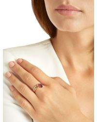 Bea Bongiasca - Multicolor Morning Star Lily Pride Rose Gold Ring - Lyst