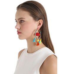 Rosantica - Multicolor Yucatan Pompom Earrings - Lyst