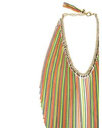 Rosantica - Multicolor Medusa Long Chain Fringe Necklace - Lyst