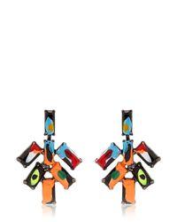 Tom Binns - Multicolor Au Fait Earrings - Lyst