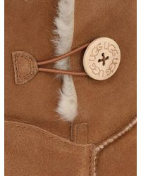Ugg - Brown Bailey Button Shearling Boots - Lyst