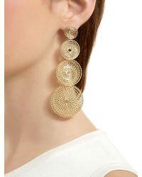 Rosantica - Metallic Soffio Spiral Earrings - Lyst