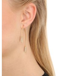 Joanna Laura Constantine - Metallic Knot Hoop Earrings - Lyst