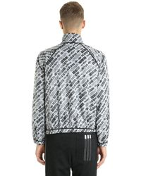 Alexander Wang - Black Reversible Ripstop & Mesh Windbreaker for Men - Lyst