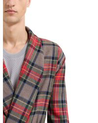Fear Of God - Multicolor Plaid Wool Robe for Men - Lyst